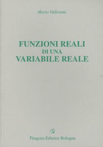 Funzioni reali di una variabile reale