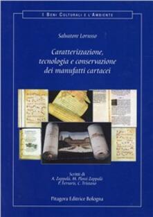 Filippodegasperi.it Caratterizzazione, tecnologia e conservazione dei manufatti cartacei Image