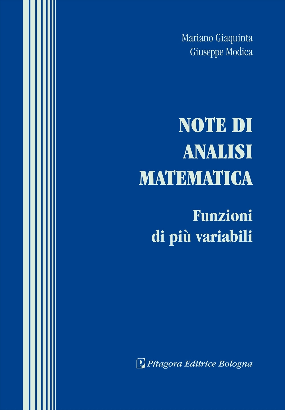 Note di analisi matematica....
