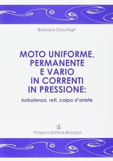 Premioquesti.it Moto uniforme, permanente e vario in correnti in pressione. Turbolenza, reti, colpo d'ariete Image