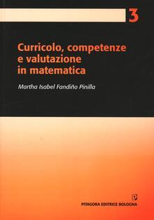 Lpgcsostenible.es Curricolo, competenze e valutazione in matematica Image