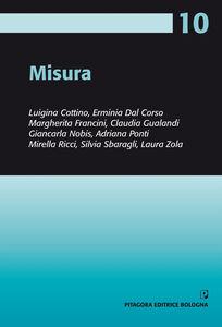 Libro Misura Luigina Cottino , Erminia Dal Corso , Margherita Francini