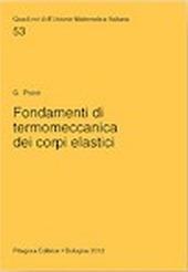 Fondamenti di termomeccanica dei corpi elastici
