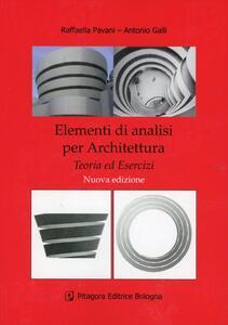 Elementi di analisi per architettura. Teoria ed esercizi