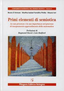 Cefalufilmfestival.it Primi elementi di semiotica. La sua presenza e la sua importanza nel processo di insegnamento-apprendimento della matematica Image