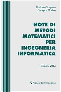 Note di metodi matematici per ingegneria informatica