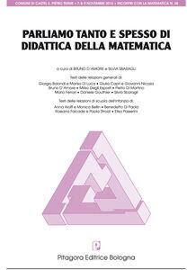 Libro Parliamo tanto e spesso di didattica della metematica