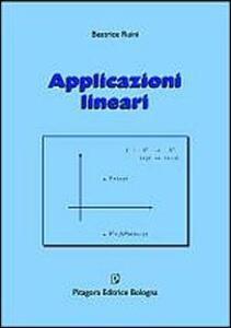 Applicazioni lineari