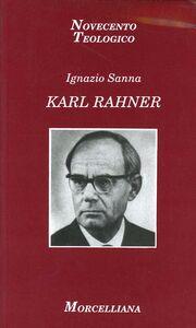 Libro Karl Rahner Ignazio Sanna