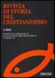 Winniearcher.com Rivista di storia del cristianesimo (2005). Vol. 1: Contro la secolarizzazione. La promozione dei culti tra Pio IX e Leone XIII. Image