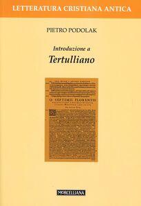Libro Introduzione a Tertulliano Pietro Podolak