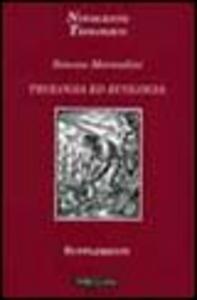 Libro Teologia ed ecologia Simone Morandini