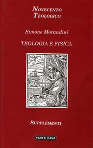 Libro Teologia e fisica Simone Morandini
