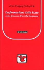 La formazione dello Stato come processo di secolarizzazione
