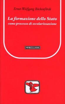 La formazione dello Stato come processo di secolarizzazione.pdf
