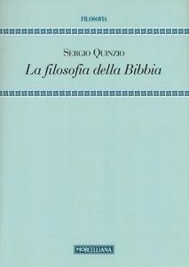 Libro La filosofia della Bibbia Sergio Quinzio
