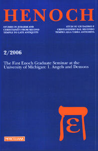Libro The first Henoch graduate seminar at the University of Michigan. Vol. 1: Angels and demons.