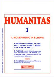 Humanitas (2007). Vol. 1: Il modernismo in Europa.