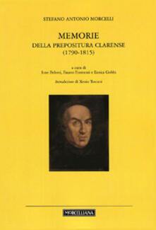 Memorie della prepositura clarense (1780-1815)