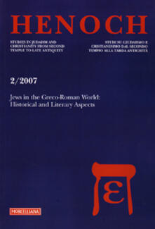 Letterarioprimopiano.it Henoch (2007). Vol. 2: Jews in the greco-roman world. Image