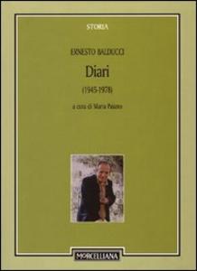 Libro Diari 1945-1978 Ernesto Balducci