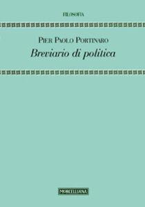 Libro Breviario di politica Pier Paolo Portinaro