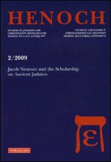 Antondemarirreguera.es Henoch (2009). Vol. 2: Jacob Neusner and the Scolarship on Ancient Judaism. Image
