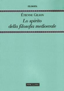 Filippodegasperi.it Lo spirito della filosofia medioevale Image
