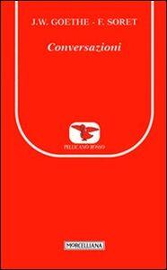 Foto Cover di Conversazioni, Libro di  edito da Morcelliana