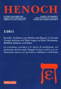 Foto Cover di Henoch (2011). Vol. 1, Libro di  edito da Morcelliana