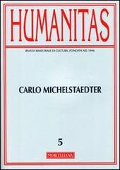 Humanitas (2011). Vol. 5: Carlo Michaelstaedter.