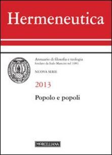 Amatigota.it Hermeneutica. Annuario di filosofia e teologia (2013). Popolo e popoli Image