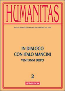 Lpgcsostenible.es Humanitas (2014). Vol. 2: In dialogo con Italo Mancini. Vent'anni dopo. Image