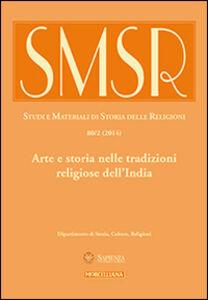 Foto Cover di SMSR. Studi e materiali di storia delle religioni (2014). Vol. 80: Arte e storia nelle tradizioni religiose dell'India., Libro di  edito da Morcelliana
