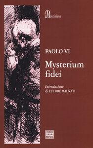 Foto Cover di Mysterum fidei, Libro di Paolo VI, edito da Morcelliana