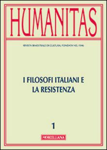 Osteriacasadimare.it Humanitas (2015). Vol. 1: I filosofi italiani e la resistenza. Image