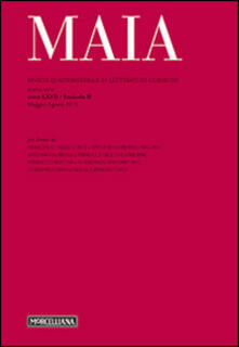 Criticalwinenotav.it Maia. Rivista di letterature classiche (2015). Vol. 2 Image