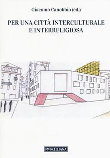 Per una città interculturale e interreligiosa - copertina