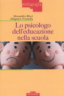 Warholgenova.it Lo psicologo dell'educazione nella scuola Image