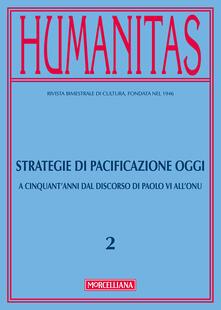 Festivalpatudocanario.es Humanitas (2017). Vol. 2: Strategie di pacificazione oggi. A cinquant'anni dal discorso di Paolo VI all'ONU. Image