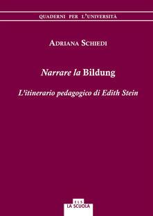 Promoartpalermo.it Narrare la Bildung. L'itinerario pedagogico di Edith Stein Image