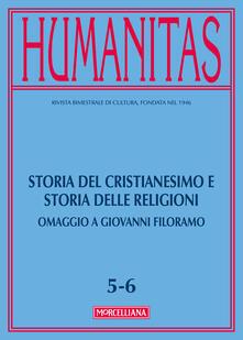 Winniearcher.com Humanitas (2017). Vol. 5-6: Storia del cristianesimo e storia delle religioni. Omaggio a Giovanni Filoramo. Image