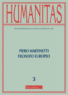 Ilmeglio-delweb.it Humanitas (2018). Vol. 3: Piero Martinetti filosofo europeo. Image