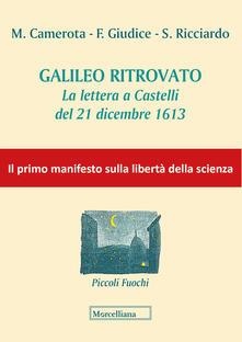 Squillogame.it Galileo ritrovato. La lettera a Castelli del 21 dicembre 1613 Image