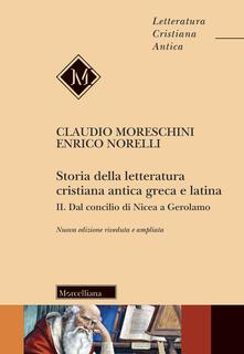 Storia della letteratura cristiana antica greca e latina. Vol. 2: Dal Concilio di Nicea agli inizi del Medioevo..pdf