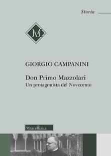 Camfeed.it Don Primo Mazzolari. Un protagonista del Novecento Image