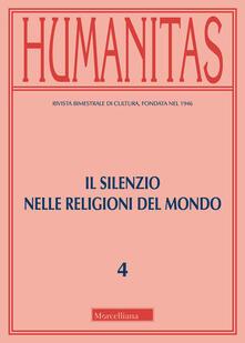 Osteriacasadimare.it Humanitas (2019). Vol. 4: silenzio nelle religioni del mondo, Il. Image