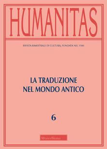Premioquesti.it Humanitas (2019). Vol. 6: traduzione del mondo, La. Image