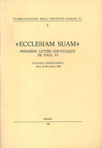 Libro Ecclesiam suam Paolo VI