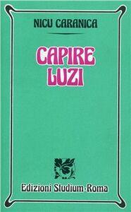 Libro Capire Luzi Nicu Caranica
